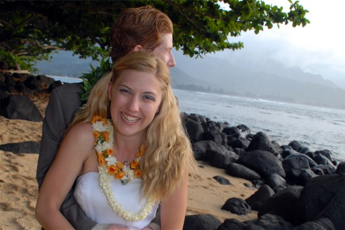 Princeville Beach Wedding