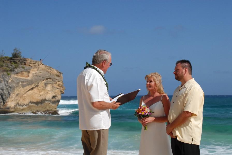 Shipwreck Beach Wedding - Poipu, Kauai