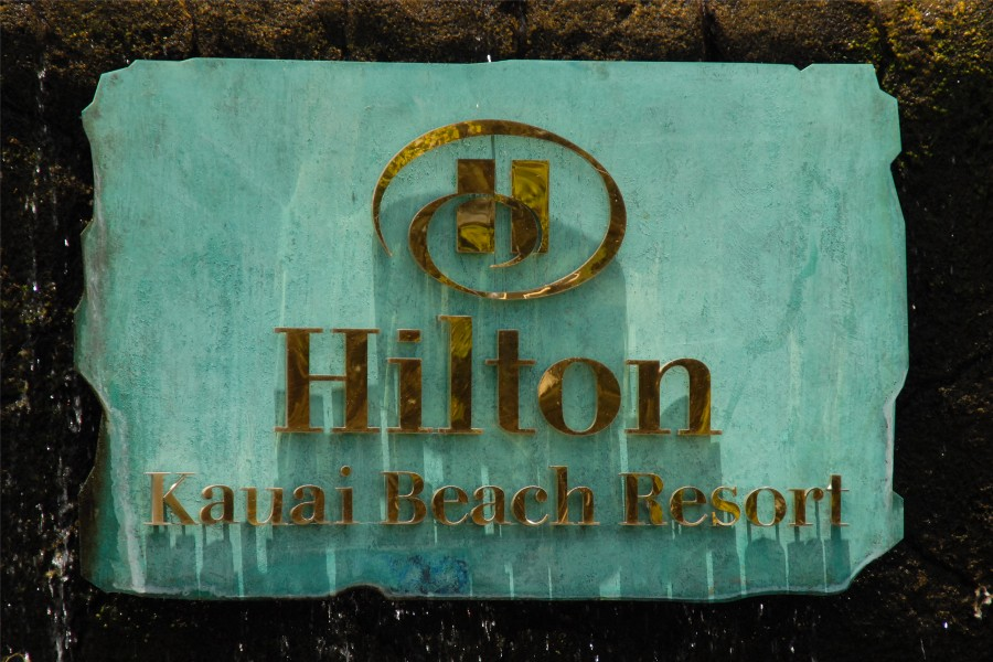 The Hilton Beach Is A Nice Secluded Right Behind Hotel Recommended For Quiet Kauai Wedding